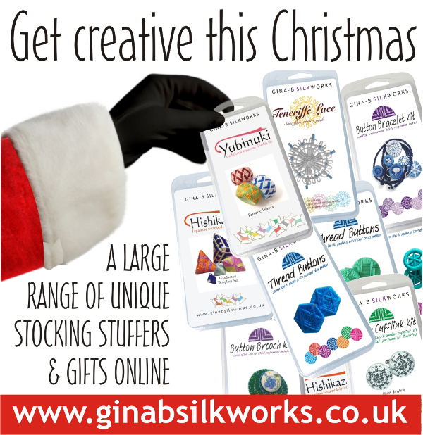 Get crafting this Christmas with Gina-B Silkworks!