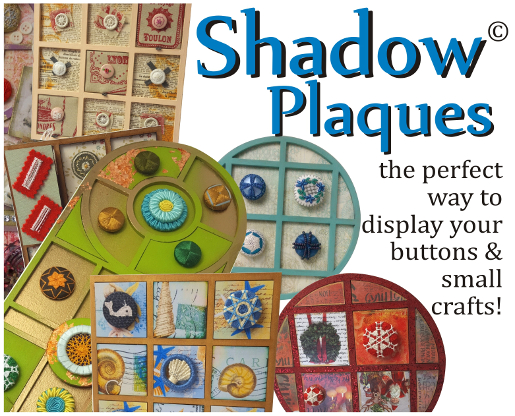 Shadow Plaque displays from Gina-B Silkworks