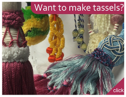 Like making tassels? Find tools and materials here
