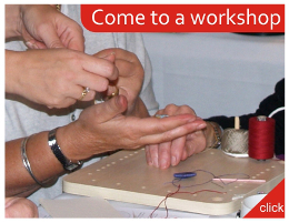 Come to a passementerie making workshop