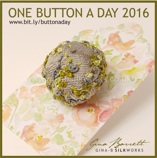 Day 270: Moss #onebuttonaday by Gina Barrett