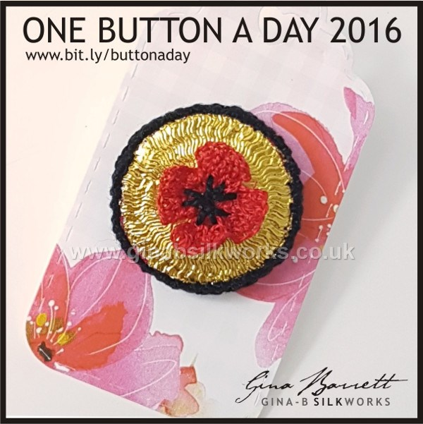 Day 316: Armistice #onebuttonaday by Gina Barrett