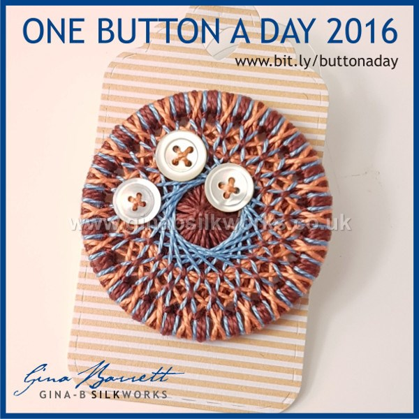 Day 321: Pearly #onebuttonaday by Gina Barrett