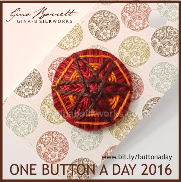 Day 327: Autumn Star #onebuttonaday by Gina Barrett
