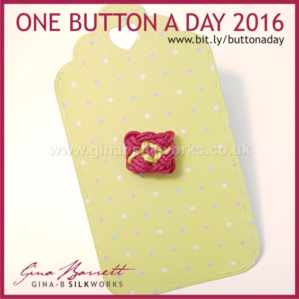 Day 342: Petit Noeud #onebuttonaday by Gina Barrett