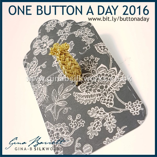 Day 343: Justus #onebuttonaday by Gina Barrett