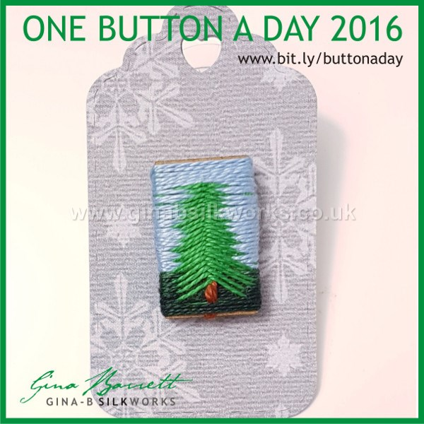 Day 344 : Lonesome Pine #onebuttonaday by Gina Barrett