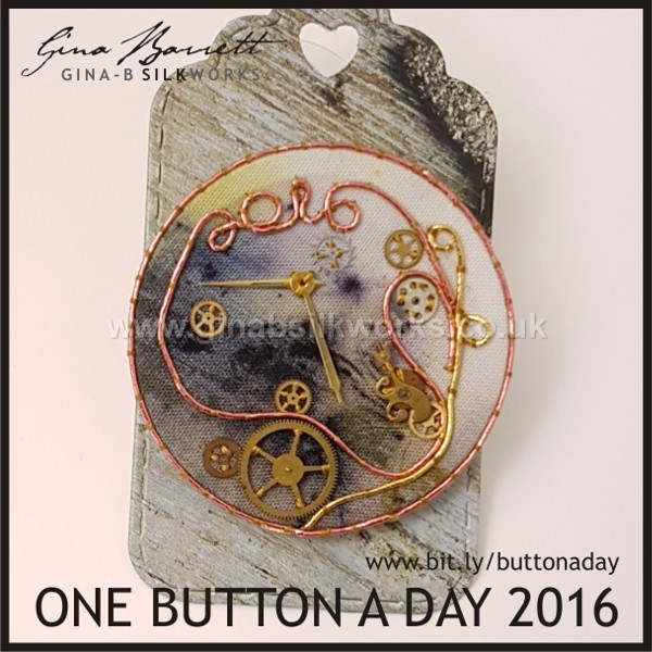 Day 366: Tempus Fugit #onebuttonaday by Gina Barrett