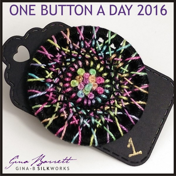 Day 1: Firework #onebuttonaday by Gina Barrett