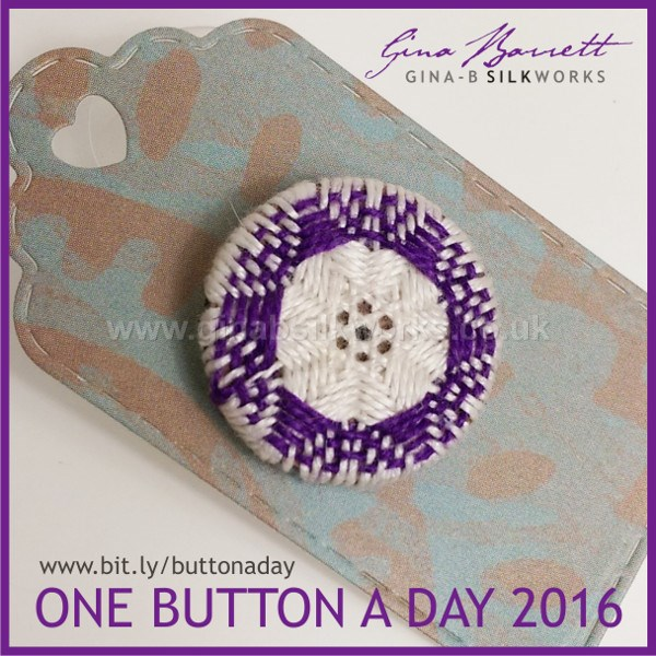 Day 37: Flare #onebuttonaday by Gina Barrett