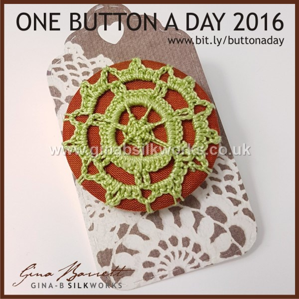 Day 281: Florence #onebuttonaday by Gina Barrett