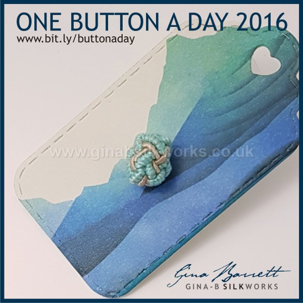 Day 357: Cloud #onebuttonaday by Gina Barrett