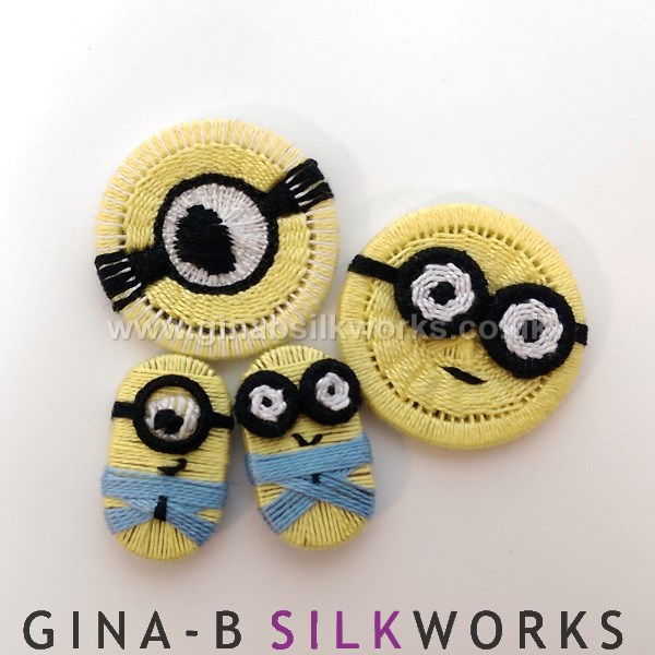 Minions buttons by Gina Barrett